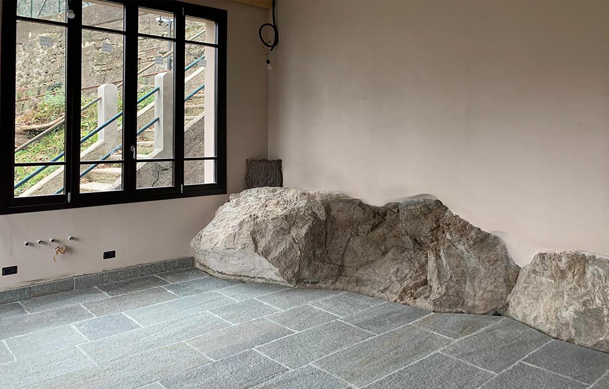 Progetto palestra studio di architettura Varese